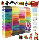 Air Dry Modeling Clay In Many Colors Magic Clay For Kids And Adults With Tools image