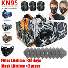 Activated Carbon Reusable Mask Breathing Valves Filter Pad Face Cover Respirator