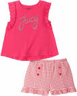 Juicy Couture Girls 2pc Short Set Size3T 4T 4 5 6 6X 8/10