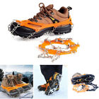 10 Teeth Spikes Footwear Traction Cleats Ice Snow Grips Spikes Crampons Safe