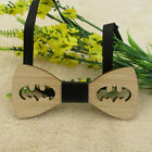 Bowtie For Accessory Wood Mens Tie Bamboo Wedding Gifts Men Bow Fashion Wooden