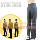 Star Trek Into Darkness Captain Kirk Spock Cosplay Costume Pants Role Play on eBay