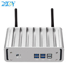 Xcy Fanless Mini Pc Intel Core I7 4500U Windows 10 Ddr3L Msata Ssd Hdmi Vga Wifi