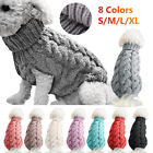 Fashion Puppy Dog Jumper Winter Warm Knitted Sweater Pet Clothes Small Dog Coat