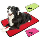 Waterproof Cooling Dog Bed Pet Kennel Cushion Mat Crate Cage Pad Large House F