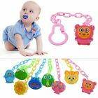 Animal Cartoon Baby Pacifier Chain Clip Anti Lost Dummy Soother Nipple Holder