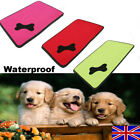 Waterproof Cooling Dog Bed Pet Kennel Cushion Mat Crate Cage Pad Large House IB