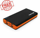 3000000mAh 4 USB Backup External Battery Power Bank Pack Charger for Cell Phone