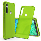 CBUS Flex-Gel Silicone TPU Case for Motorola G Fast - Green, Turquoise, Purple