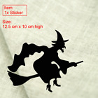 Halloween Witch Sticker For Glass Door Car Window Laptop Decoration Decal