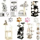 149CM Cat Tree Climbing Scratching Large Tower Post Kitten Activity Centre Bed