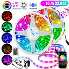 32.8ft Strip Light Bluetooth APP Phone Control Wireless RGB LED SMD Music Sync