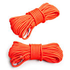 30M WATER SALVAGE FLOATING LIFE ROPE CANOE BUOYANT RESCUE LINE SAFETY BUCKLE