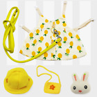 Rabbit Harness Leisure Clothing Outdoor Leash Small Animal Guinea Pig Clothes