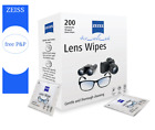 Zeiss Pre Moist Lens Wipes Glasses Individual Sachets Glass Cleaner 30-400 Wipes