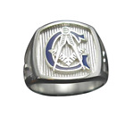 Masonic Ring for Men Stainless Steel Personalized Free Shipping