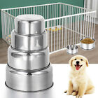 Cat Cage Stainless Steel Dish Feeder Hanging Bowl Pet Bowl Food Container