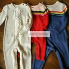 GYMBOREE BABY TODDLER BOYS/GIRLS CHRISTMAS HOLIDAY KNIT SWEATER ROMPER JUMPSUIT