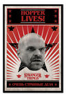 Stranger Things Hopper Lives Poster MAGNETIC NOTICE BOARD Inc Magnets