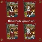 The Stocking Hung Dog Cat Pet Lovers Decorative Christmas Garden Flag Gift