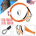 4YANG Climb Right 1/2x12ft Steel Core Lanyard Kit Flipline Swivel Snap Kits New