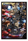 Avengers Gamerverse Face Off Poster MAGNETIC NOTICE BOARD Inc Magnets