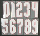 2020 2021 OFFICIAL SPORTING ID ENGLAND AWAY WHITE NUMBERS 105mm = PLAYER SIZENational Teams - 112979
