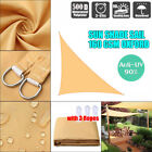 Sun Shade Sail Canopy Garden Patio Awning UV Protection Sunscreen Outdoor IB UK