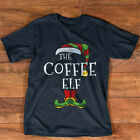 Coffee Elf Family Matching Christmas Group Gift Pajama T-Shirt