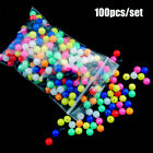 Round Stoppers Pe Plastic Drill  Floats Balls Double Pearl  Fishing Cross Beads