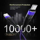 For iPhone 12 11 Pro Max XR XS 7 6 8 5 Mini USB Lightning Cable Fast 6ft Charger