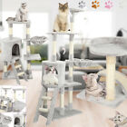 56 inch Cat Tree Activity Centre Scratcher Scratching Post Tower Kitten Pet Bed