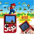 Kids Gift Handheld Retro Video Game Console Gameboy Built-in 400 Classic Games