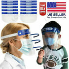 Safety Face Shield Full Face Clear Anti Fog Transparent Work Industry E 251