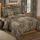 3-4 Piece Xtra Camouflage Bedding Set Realtree Comforter & Sham(s) + Add Ons