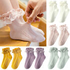 Toddlers Baby Kid Girl Winter Warmer Soft Lace Ankle Socks Little Fairy Stocking