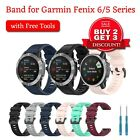 For Garmin Fenix 6/6s/6x/5/5x/5s/plus/3/forerunner Band Replacement Band Strap