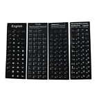 English Laptop Russian Japanese Thai Letters Computer Keyboard Layout Stickers