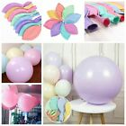 """36"""" Inch Large Giant Round Latex Balloons Birthday Party Wed Macaron Candy Color"""