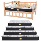 Large Dog Bed For Dog Raised Bed Kennel Cage Mat Waterproof Cushion Pet Mattress
