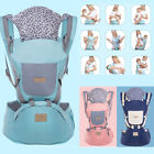 9 in 1 Ergonomic Baby Carrier With Hip Seat Stool Sling Backpack for All Seasons