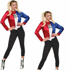 Official Adults Halloween Suicide Squad Harley Quinn Cosplay Costume Fancy Dress