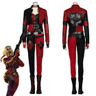 The Suicide Squad Harley Quinn Cosplay Costume Suit Uniform Halloween Outfit