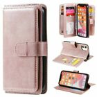 For Iphone 12 Pro Max 11 8/7/6s Plus Xs Leather Wallet Card Slot Case Flip Cover