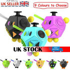 12-Sided Fidget Cube Spinner Desk Toy Kids Anxiety Adult Stress Relief Cubes R3