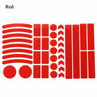 Safety Wheel Reflective Stickers Warning Mark Bicycle Reflector Reflector Tape