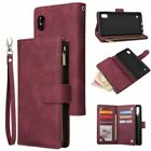 Leather Wallet Zipper Phone Case Cover For Samsung A11 A21s A31 A51 A71 A20 A30