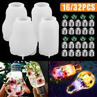 Silicone Resin DIY LED Light Bulb Molds Chip Base Cover Epoxy Making Tool Mould
