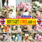 10heads Artificial Silk Hydrangea Fake Flowers Bouquet Bunch Party Home Decor W