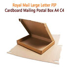 A4/C4 Postage Boxes PIP Large Letter Royal Mail Cardboard Postal Mailing Box